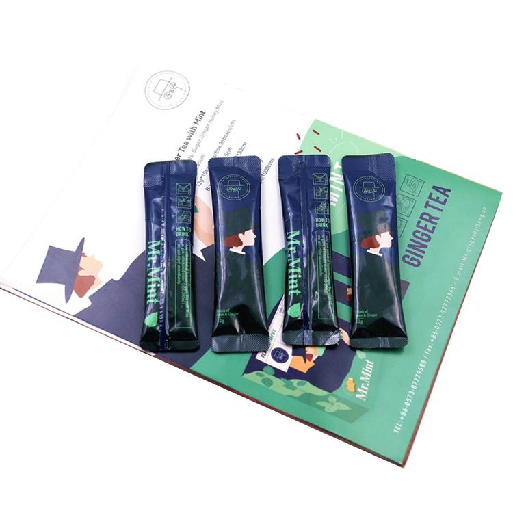 instant mint ginger tea of yellow ginger tea hot sale tea instant sachet low price - 4uTea   4uTea.com
