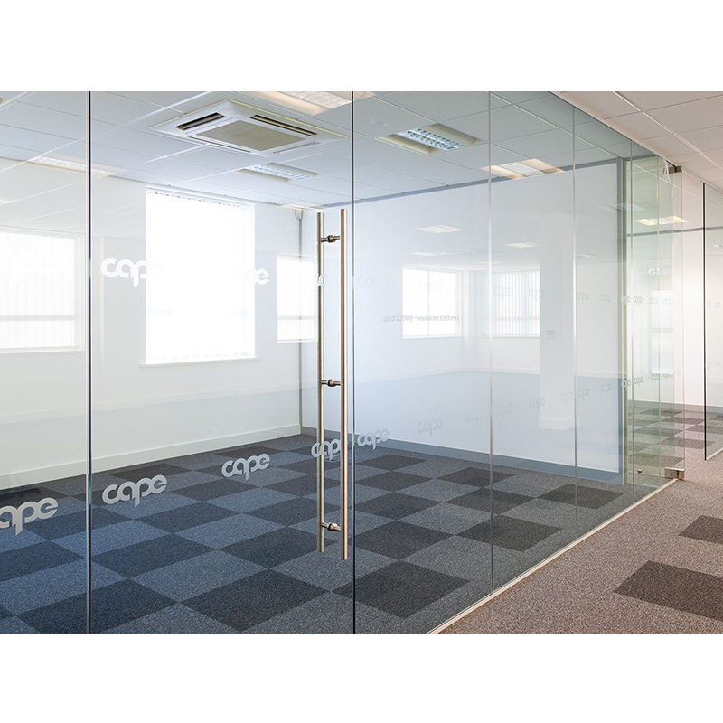 High quality aluminum alloy frame office room partition glass wall