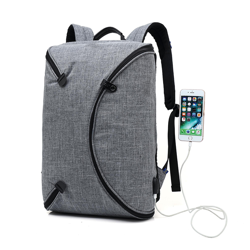 Laptop bags backpack Multi-functional Waterproof Anti Theft Business Men Foldable Laptop Bag Backpack with USB Charging