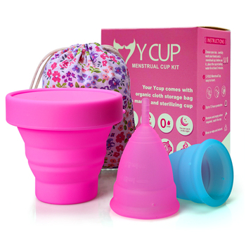 Wholesale Menstrual Cup Sterilizer Durable 100% Medical Silicone Menstrual Cup