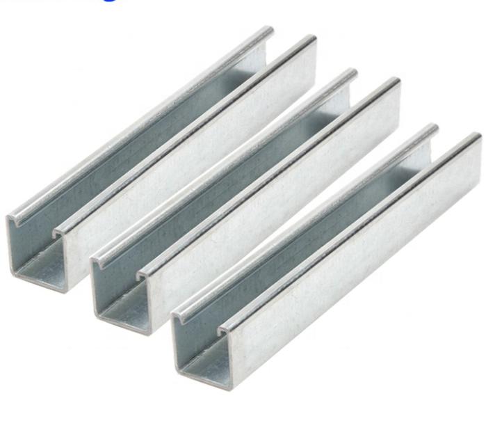 Best c channel steel price steel strut channel sizes