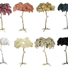 White Wing 50-55 Cm Bleach White Ostrich Plumes Wholesale Ostrich Wing Feathers Bulk For Centerpiece/Lamps