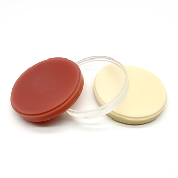 A2 color 98MM dental lab Acetal PMMA Discs Cad Cam Dental Material Flexible PMMA block