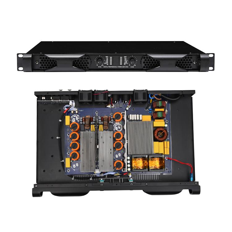 600w 1200w 1U 2 канала класса d аудио усилитель мощности открытый сабвуфер усилитель мощности