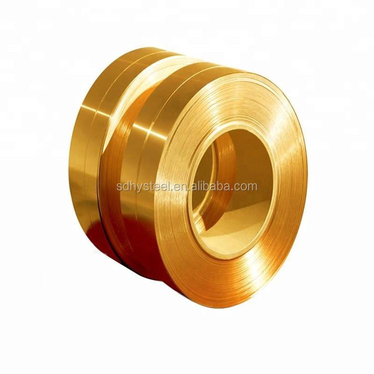Factory price h70 C2600 c2680 C2700 cuzn37 10mm rolls copper brass strip