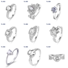 Ring 925 Silver Rings Silverrings Heart Ring Hot Sale Heart Ring 925 Sterling Silver Wedding Rings For Women