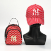 Red  purse and hat