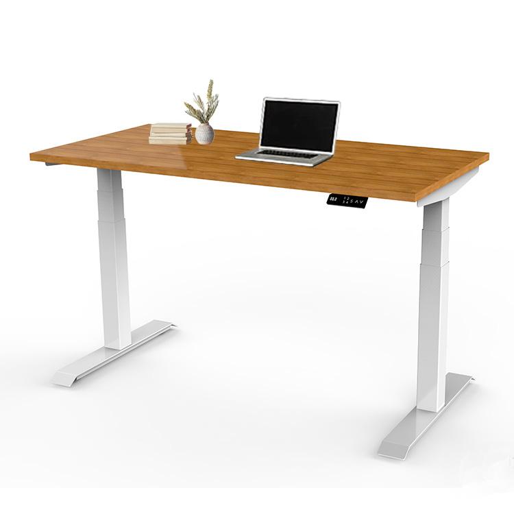 Офисный современный Электрический Регулируемый складной стол для компьютера с металлической рамой