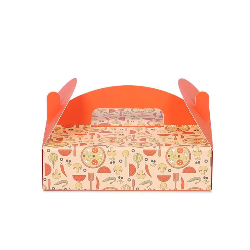Pandapaper deep pizza box customized corrugated pizza box disposible pizza box