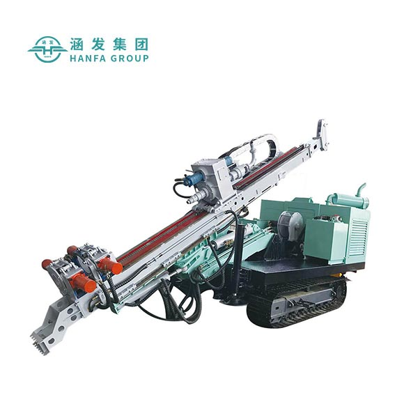 HF150RC Hydraulic Corel Geological Soil Testing Diamond Core Drill Rig