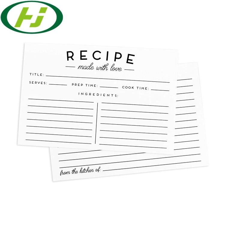 Карточка для рецепта, протектор для страниц, 4 кармана на страницу, карманные Заполняемые листы для книг рецептов