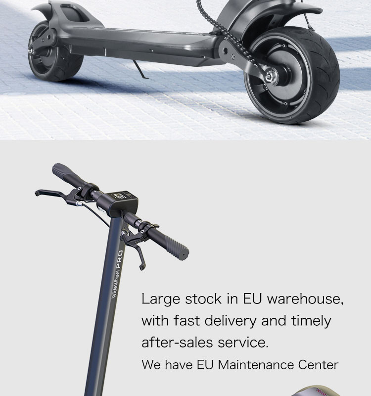 EU/US Warehouse 1000W Power Dual Motor Mercane Wide Wheel Pro Version 4 Foldable Electric Kick Scooter for Adult