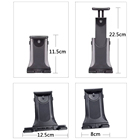 Aluminum Alloy Tripod Foldable Mobile Phone Tripod Height Adjustable Stand Mobile Phone Tablet Universal Tripod