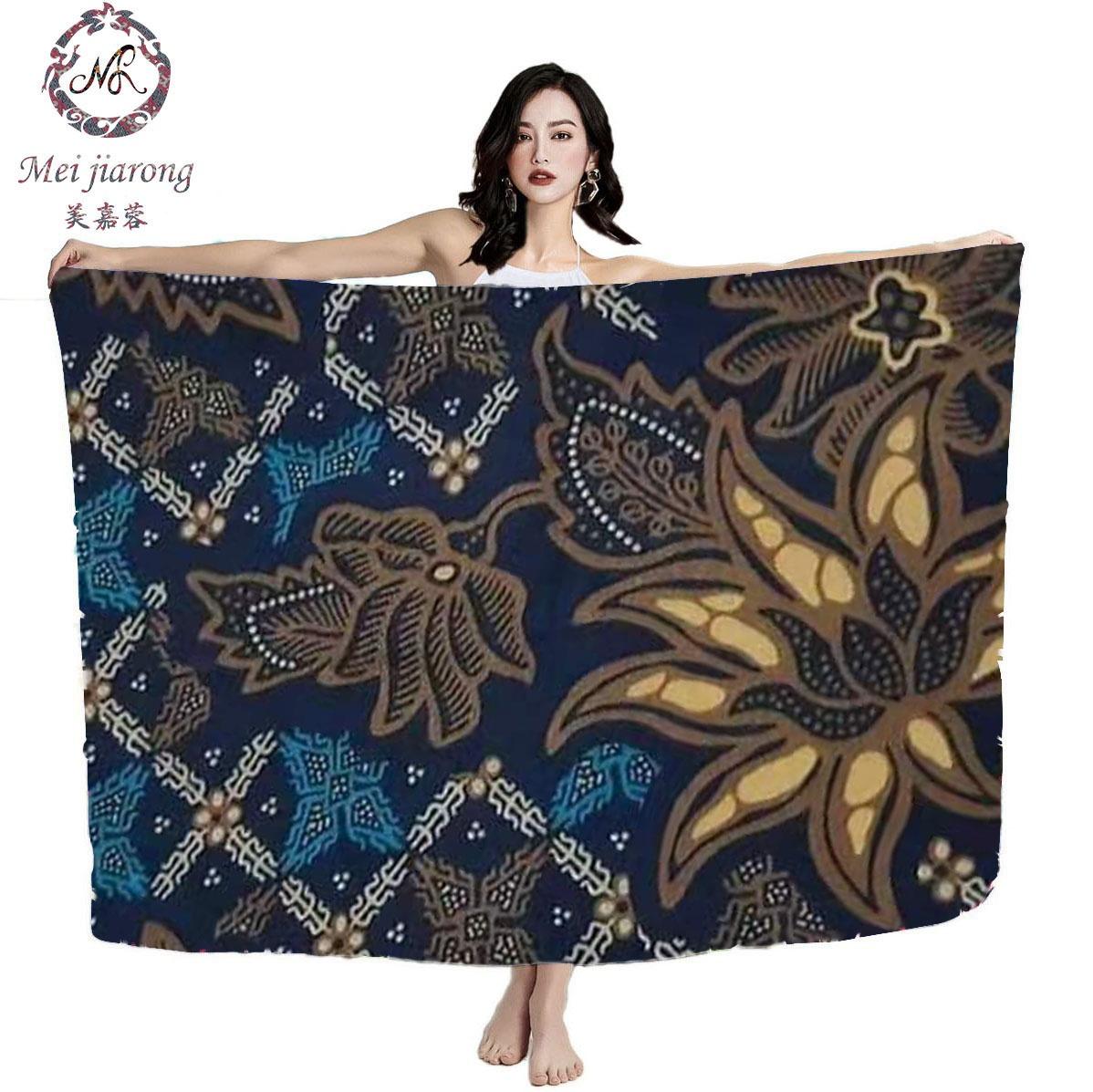 Wholesale guaranteed quality unique Cambodian Indian rayon sarong batik