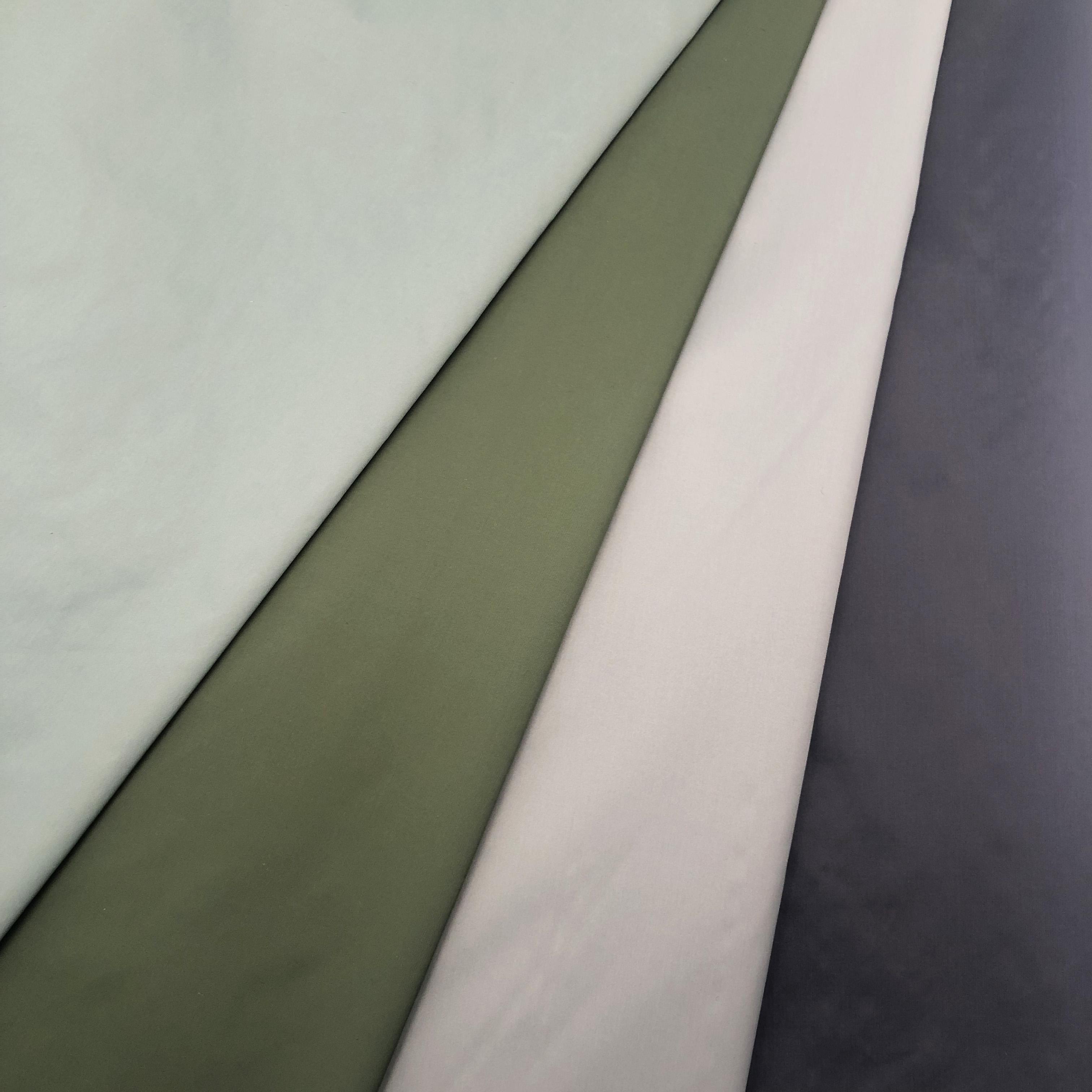 400T матовая нейлоновая тафта, водостойкая, 100 нейлоновая ткань для пухового пальто, высокое качество