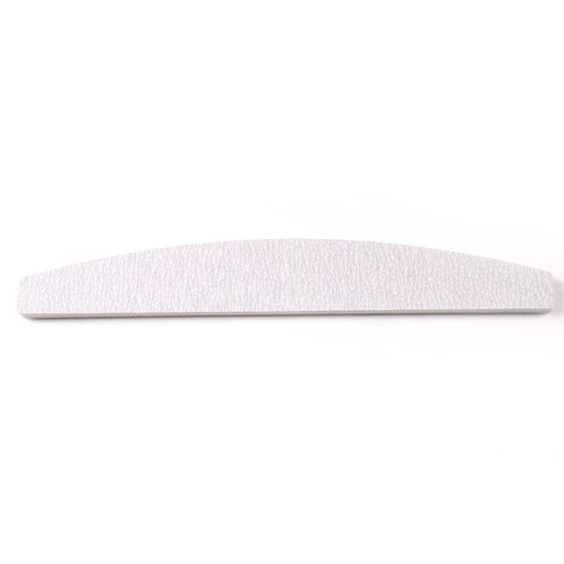 TSZS Professional Customizable LOGO Curve Square Diamond Boat shaped Straight Grey Nail File