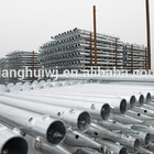 Screw Foundations Hot-galvanized WITH FLANGE Ground Screw Helix Pile Anchor For Foundations