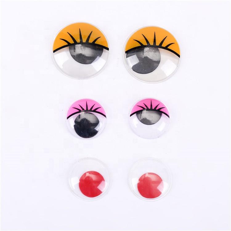 Игрушки разных размеров, безопасные движущиеся глаза, движущиеся глаза, высококачественные Лидер продаж, Пластиковые Висячие глаза