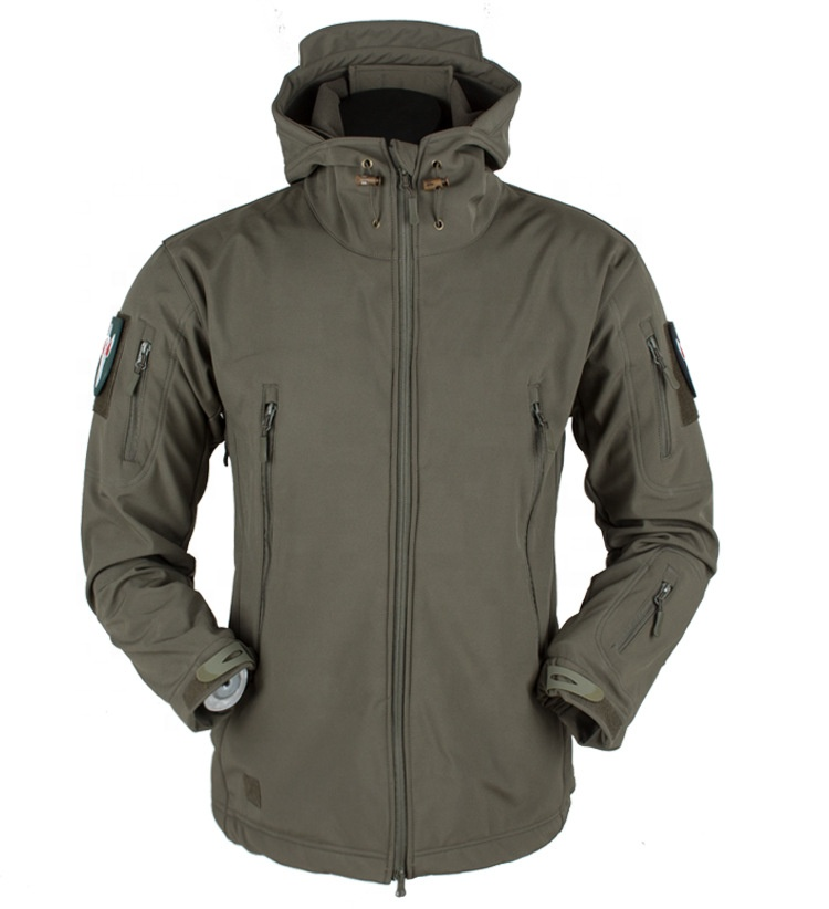 Soft Shell Waterproof V4 Tactical Military Jacket for Men Army Hoody Jacket
