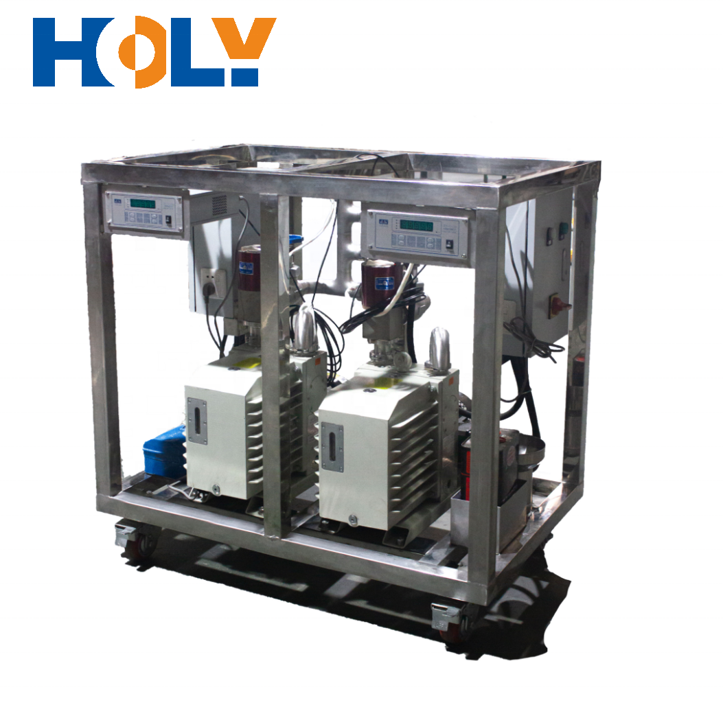Dynamic Vacuum Pump System for Vacuum Jacketed Hose