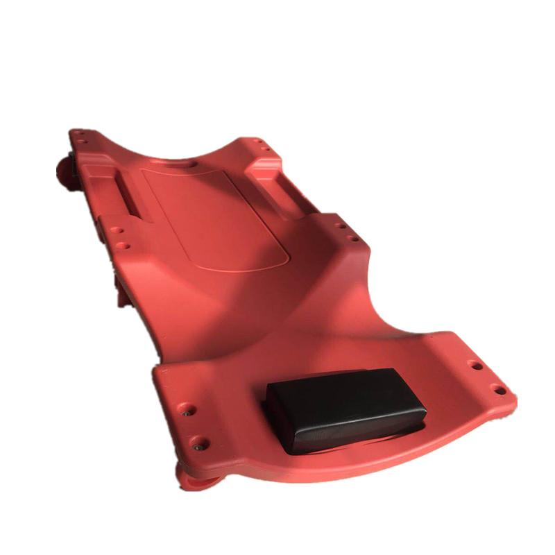 40 Inch 6 Wheel Plastic Workshop Garage Car Automotive Repair Mechanics Creeper