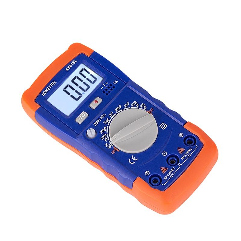 A6243L Digital LCD Capacitance Inductance LCR Meter Tester Multimeter 200μF 20H