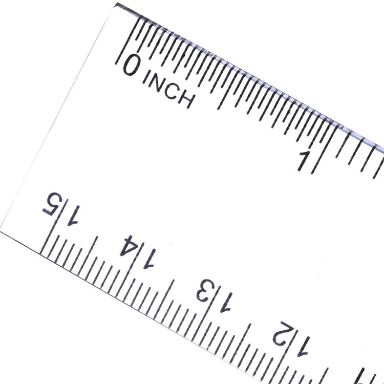 Заводская линейка на заказ, 30 см, инструменты для измерения, пластиковый спиртовой уровень, устройство длины, плоская прямая Линейка