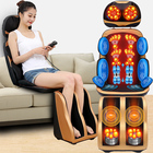 Air Massager Massage Electric Low Back And Neck Shiatsu Air Pressure Massager Cushion Butt Spine Kneading Full Body Car Seat Portable Massage Chair