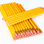 School Pencil School Pencil Factory School Hexagonal Graphite Standard Sketching Wooden Pencil With Eraser
