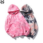 2021 New Arrivals Wholesale Unisex Tie Dye Hoodie Custom Logo Plus Size Oversized Men's Sweatshirt Hoodie