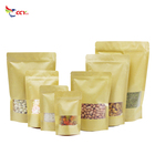 Paper Bags Bag Paper Bag Stand Up Kraft Paper Pouch Bags With Window Coffee Bag Packaging Zip Lock