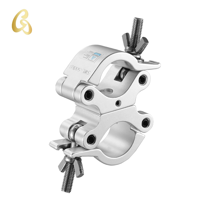 TUV approved BLK Clamp with Half Coupler for 50mm Tubing