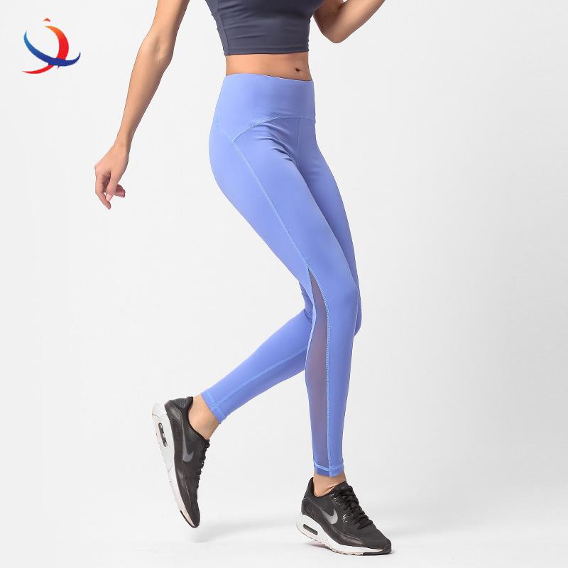 2020 new design unique hot selling yoga wear blank legging yoga pants oem your logo label nude color girls seamless yoga pant