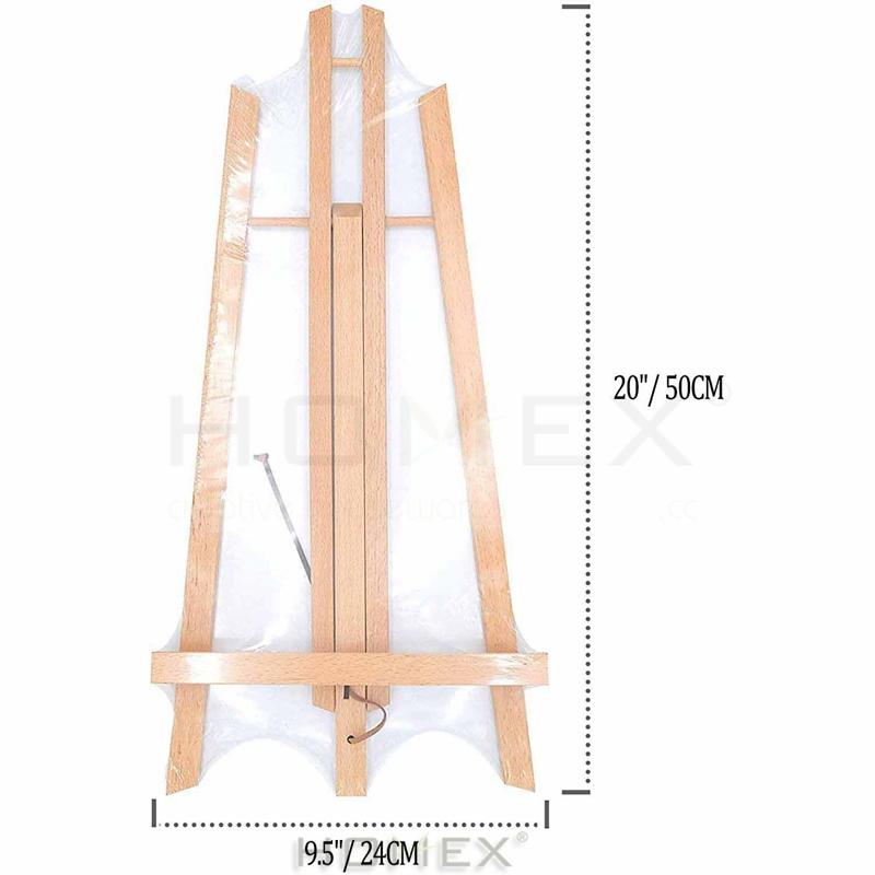 Высококачественная деревянная подставка для мольберта из твердого дерева для детей и студентов