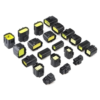 1/2/3/4/6/8/10/12 Pin Way Waterproof Wire Connector Plug Car Auto Sealed Electrical Set Car Truck connectors