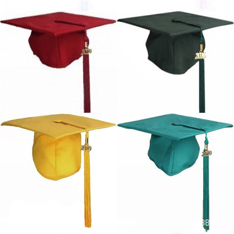 Unisex Adult Customized Graduation Hat With Logo Graduation Season Ceremony School Mortarboard Cap Graduation University Hat