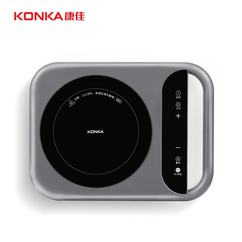 KONKA портативный индукционная плита легкий и портативный 2100w Высокая мощность 8 блок огневой мощи индукционная плита огонь котел KEO-IS3