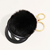 34-Black fur ball