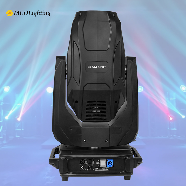Factory price Disco 380w sharpy 18r beam moving head light DMX512 control model  bar show stage lighting