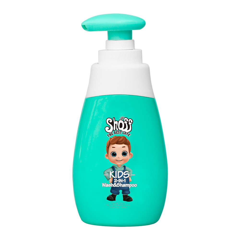 SHOFF New Design Hot-selling 160ml Baby Soap and Shampoo Top to Toe Shower Gel Deep Care Baby Bath Top to Toe