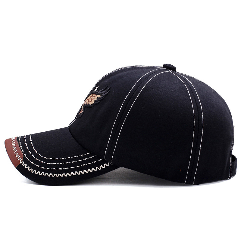 2021 Classic Cotton Adjustable Baseball Hat Khaki Black Navy Blue for Men Hot Sell Baseball Cap Hats Women