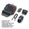 Conjunto completo (mouse + Teclado + adaptador)