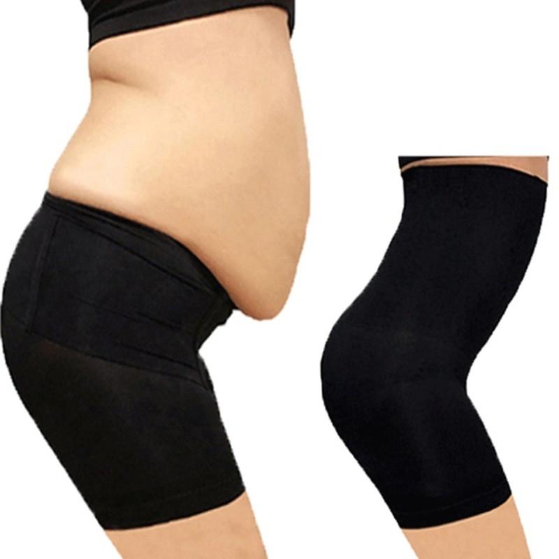 Women High Waist Girdle Tummy Control Slim Body Underwear Shapewear Brief UK