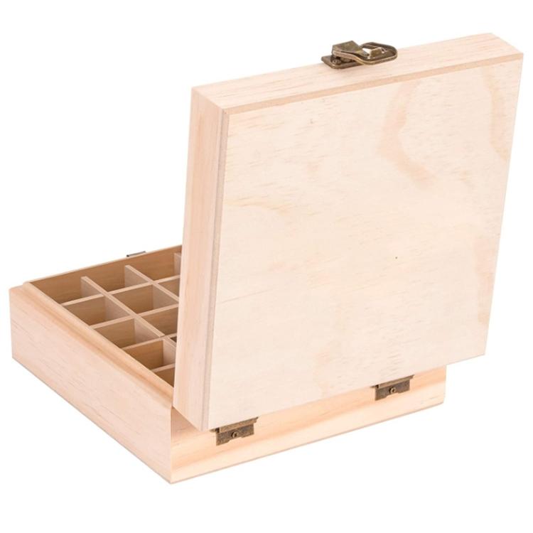 Прямая продажа с фабрики, деревянные складные отделочные коробки, коробка для хранения эфирного масла для растительной терапии