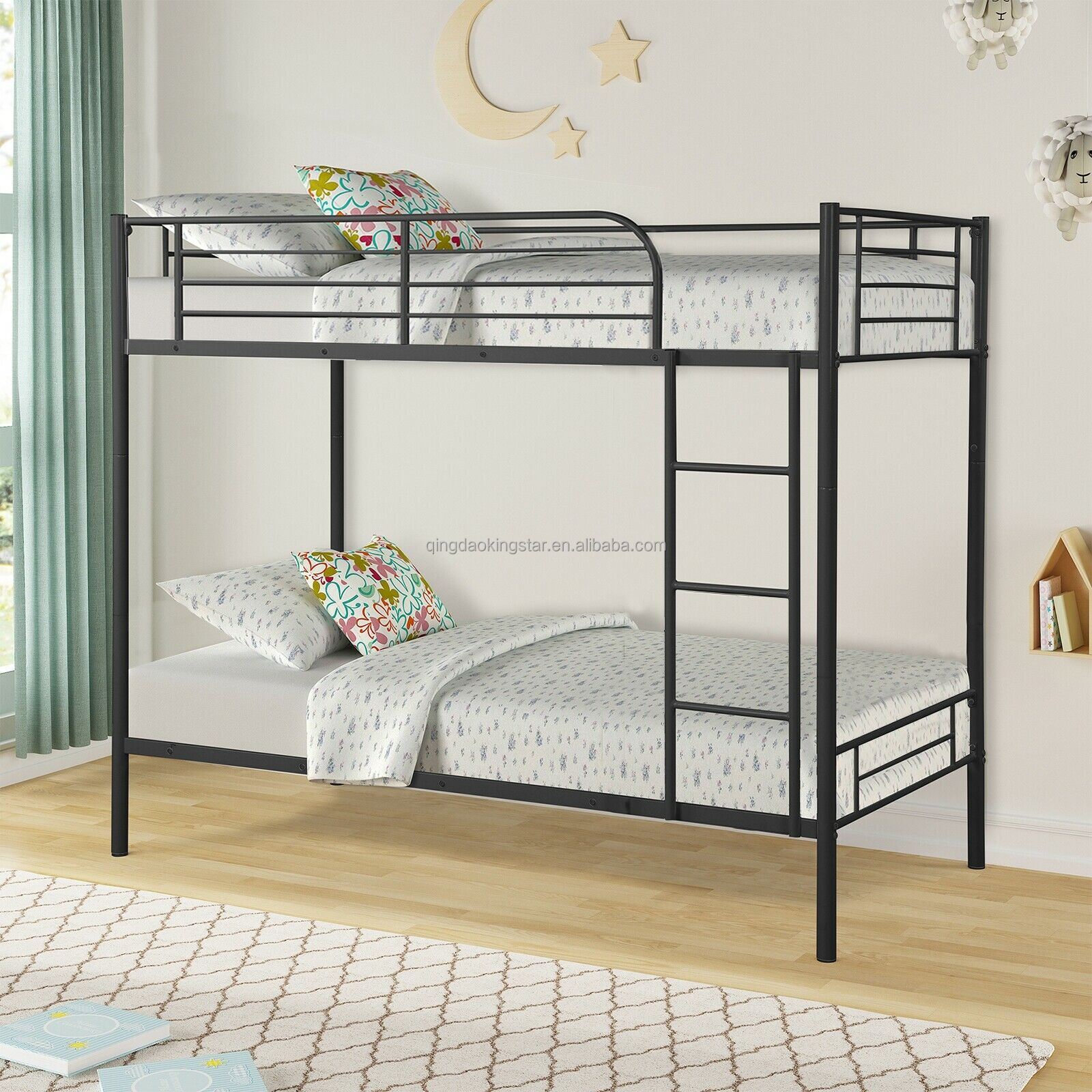 Uk Hot Sell Modern Kids Single Over Single Metal Bunk Beds Buy Bunk Beds Kids Bed Metal Bed Product On Alibaba Com