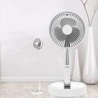 For Fan Easy For Storage Collapsible Floor Air Cooler Fan Battery Rechargeable Folding Table Fan