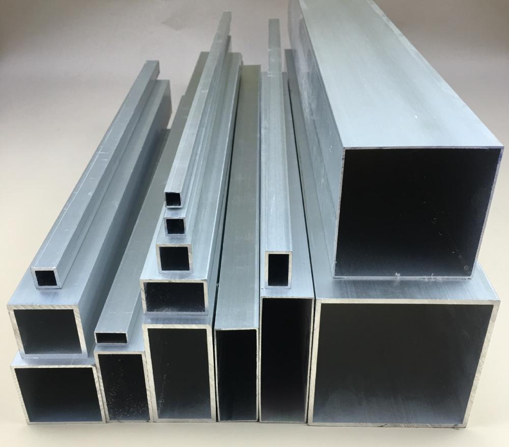 6061t6 aluminum tube/alluminium extrusion tube manufacturer supply 80mm aluminum tube