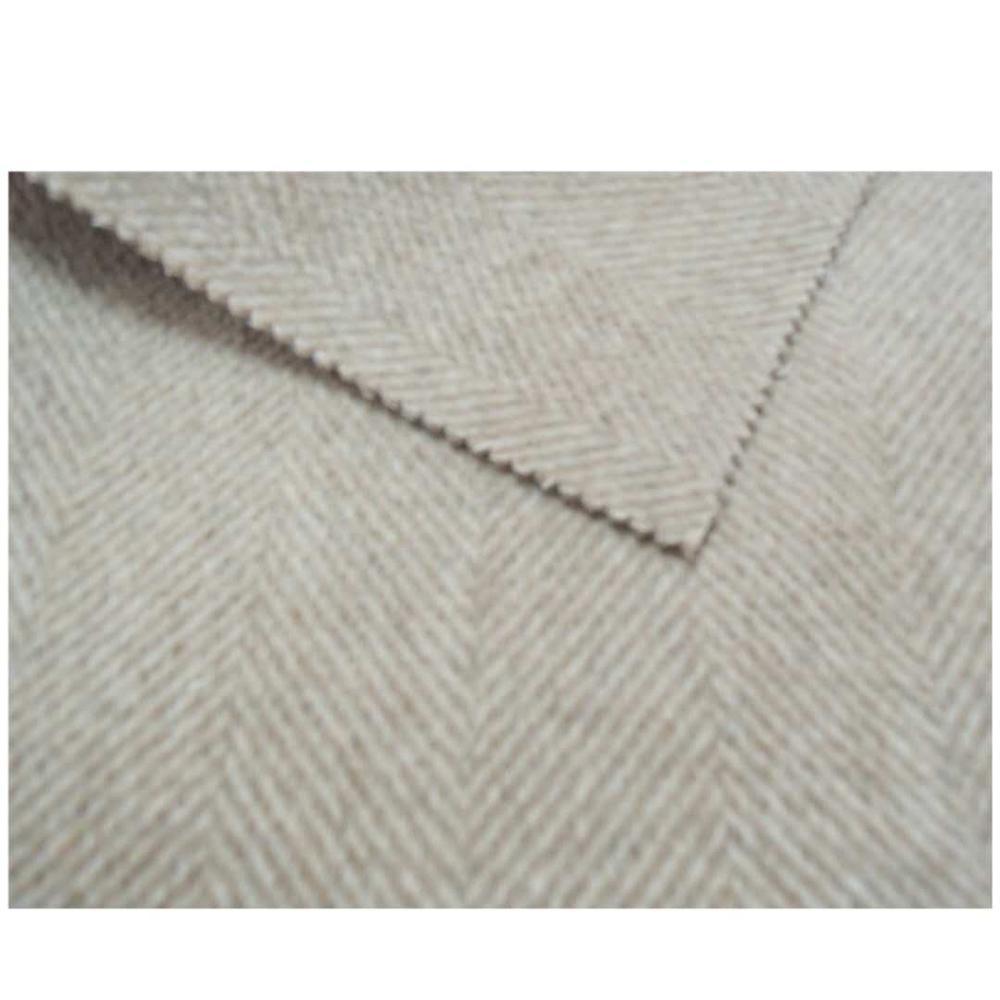 60% шерсть 5% Альпака 30% полиэстер 5% другая двухсторонняя шерстяная ткань для одежды