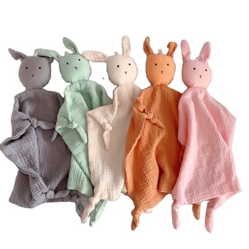 Wholesale Custom Kids Plush Bunny Rabbit Baby Blanket Comforter Bibs/Good Quality Cheap Comforters