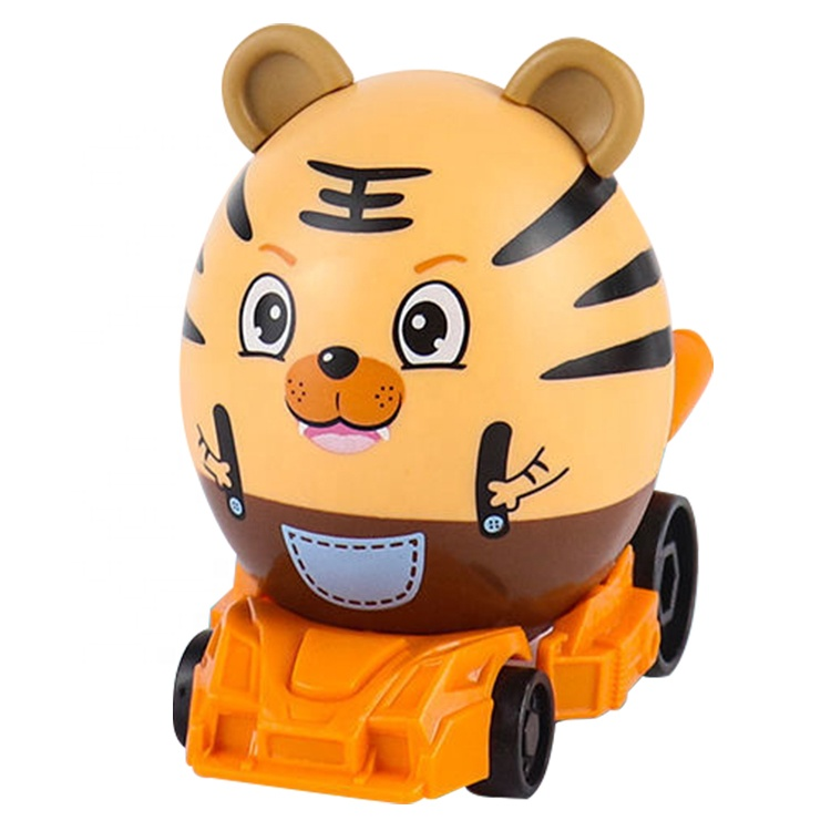 6 Styles Assembling Mini Car Cartoon Scooter Blind Suprising Box Cute Egg Assembly Car Toys Other Toy Vehicle 2 to 4 Years